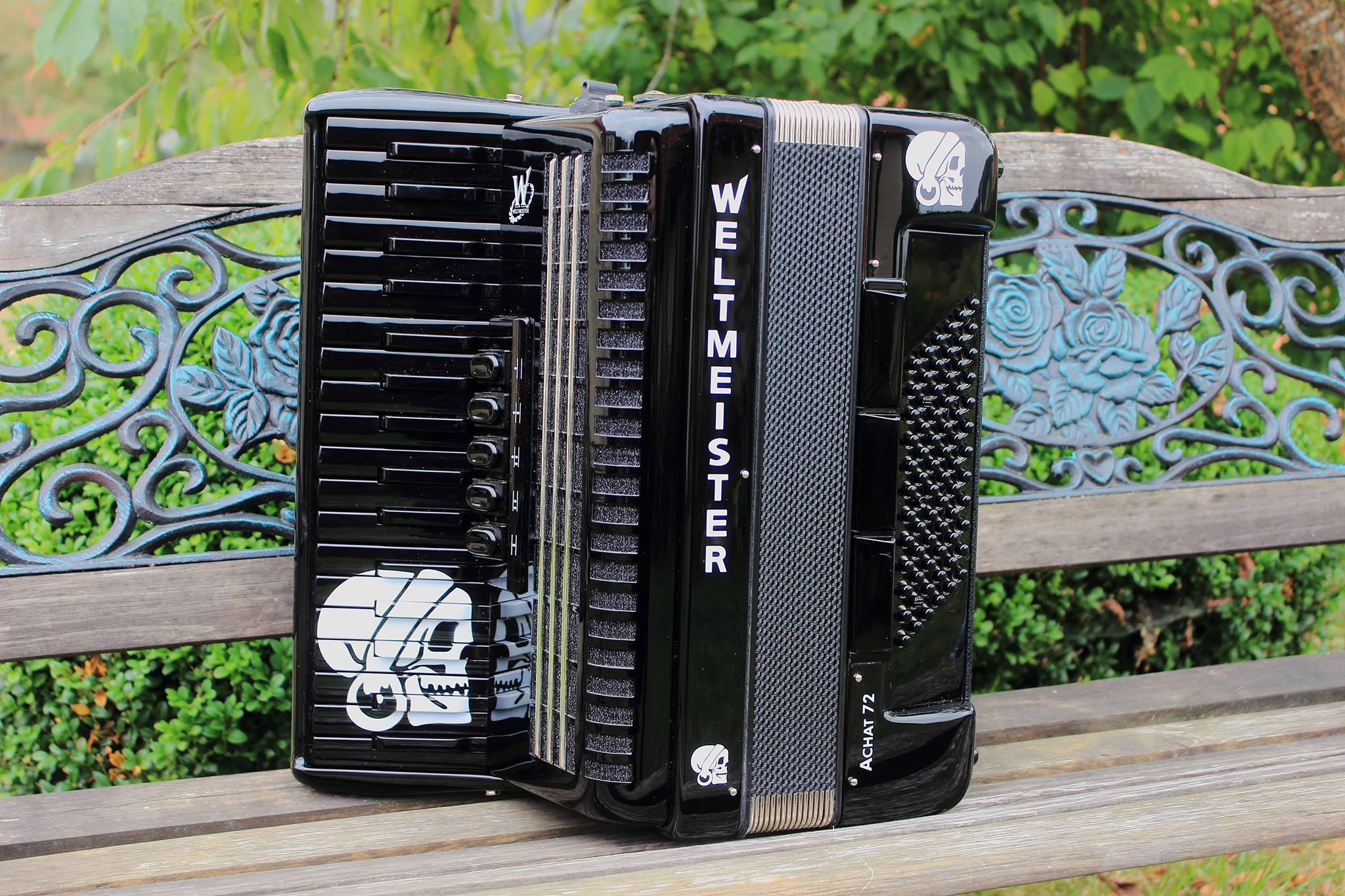 Akkordeon Pascal Kravetz - customized accordion
